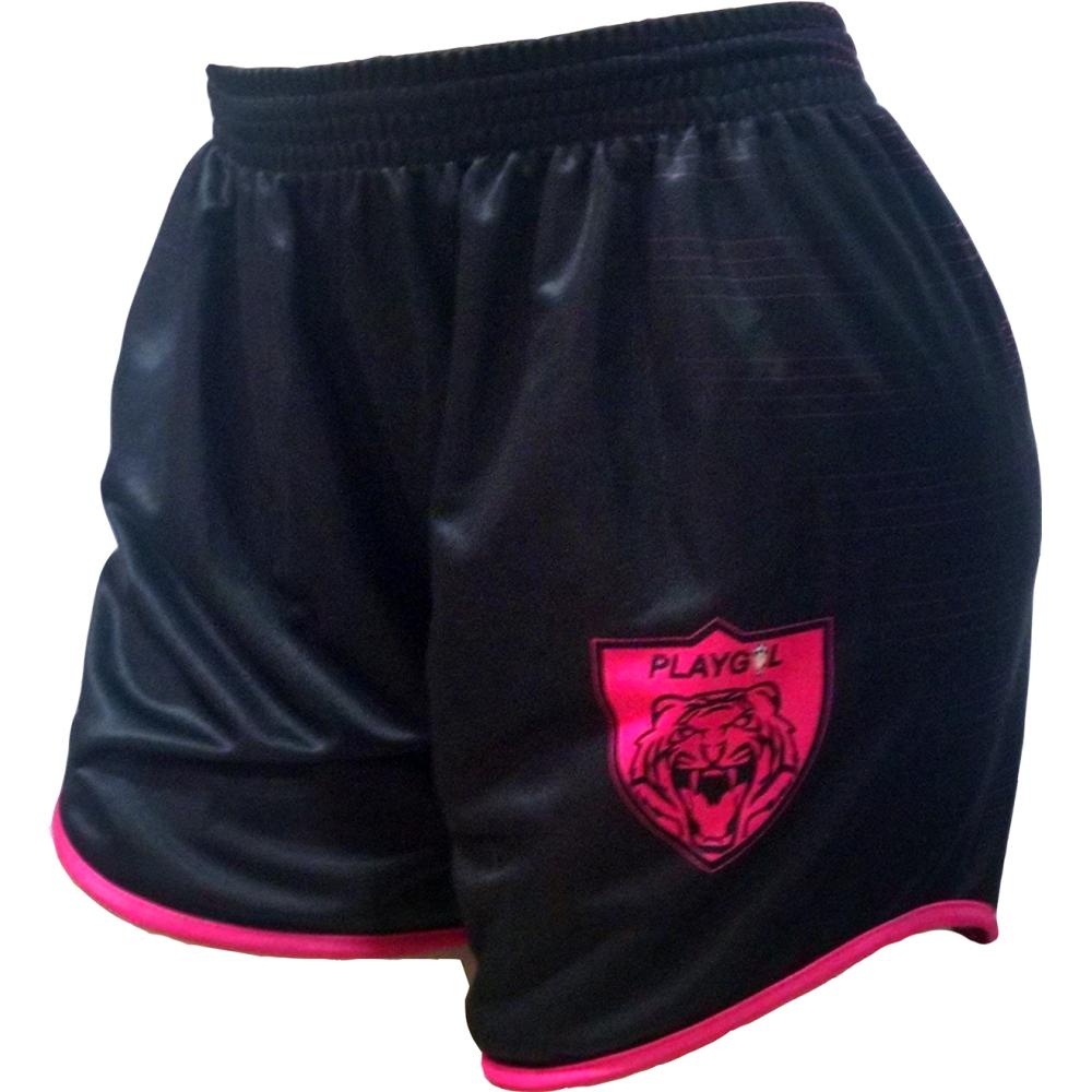 Shorts Feminino Personalizado Digital  Tranfer Sublimático - Playgol ... b355026ec4951