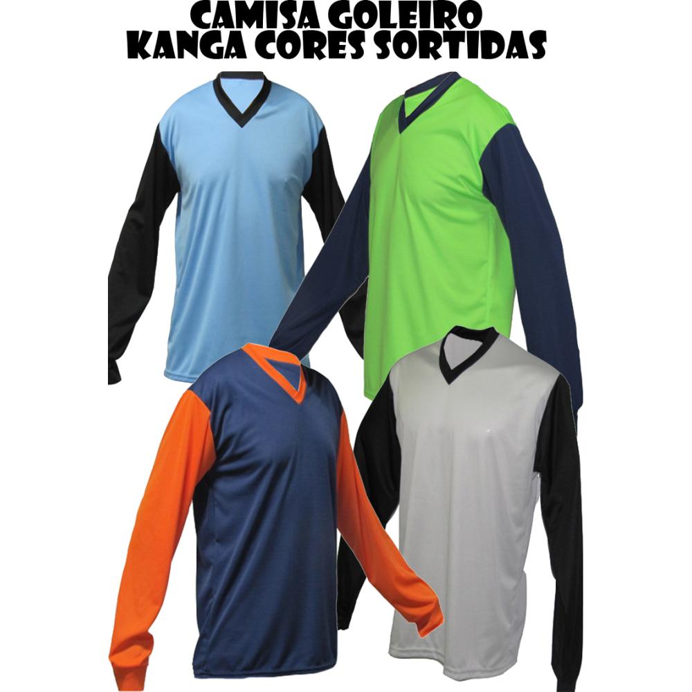 Camisa de Goleiro Kanga - P adulto com nº 12 - Playgol.com.br 253b4c6aef9bf