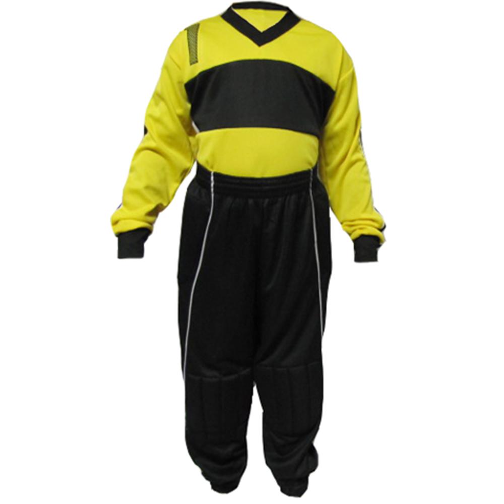 7ed7c702bd Camisa de Goleiro Infantil com calça e meião Tam G (camisa + calça + ...