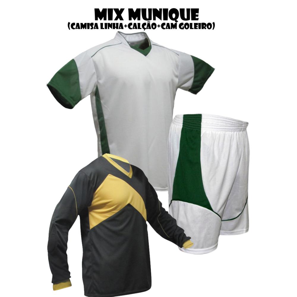 Uniforme Esportivo Munique 2 Camisa de Goleiro Omega + 18 Camisas ... 179b4a12e64c9
