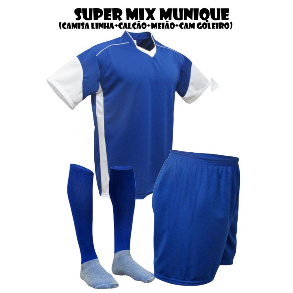 f24671322b Fardamento Esportivo Munique 2 Camisa de Goleiro Pop + 18 Camisas +18 ... -  Kanga Sport