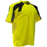 7d257ca89a Camisa de Arbitro - Amarelo x Preto - G