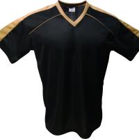 606350376f Jogo de Camisa Arezzo com 14 Peças - Preto x Dourado - Gi