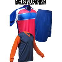 Uniforme Esportivo Lotus Premium Econômico 1 Camisa de Goleiro + 14 Ca... - Kanga  Sport 619022913fbd2