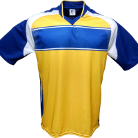 Jogo de Camisa Lotus Premium com 14 peças - Royal x Amarelo x Branco f1b43b2efc7c6
