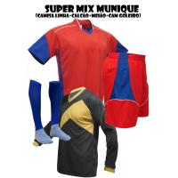 d345a48f3 Fardamento Esportivo Munique 2 Camisa de Goleiro Omega + 18 Camisas +1... - Kanga  Sport