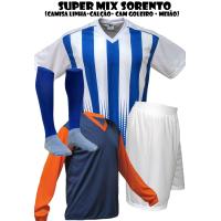 b8280fa0b8 Fardamento Esportivo Sorento 1 Camisa Gol Pop + 16 Camisas + 16 Calçõe... -  Kanga Sport