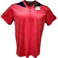Camisa Lazer 1751 - GG - Vermelho (cereja) x Marinho - GG e0cf02e6bc234