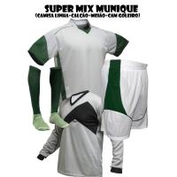 fba1b6dc9f282 Fardamento Esportivo Munique 2 Camisa de Goleiro Omega + 18 Camisas +1... -  Kanga Sport