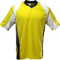 Jogo de Camisas Texas 10 peças e 1 Camisa de Goleiro - Amarelo x Branc... -  Kanga Sport 8e28d3f86a335
